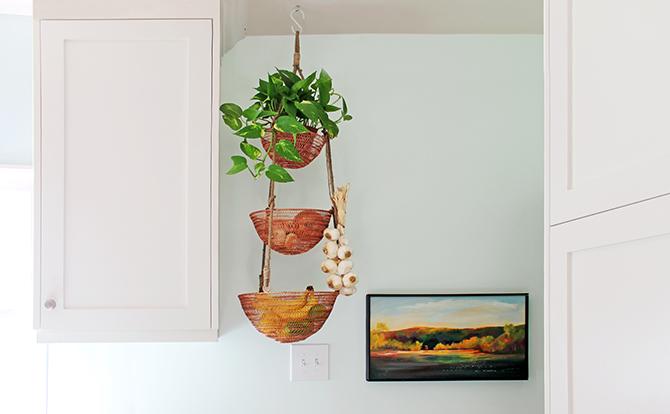 A Tisket A Tasket A Hanging Kitchen Basket Erika Dale Interior Design