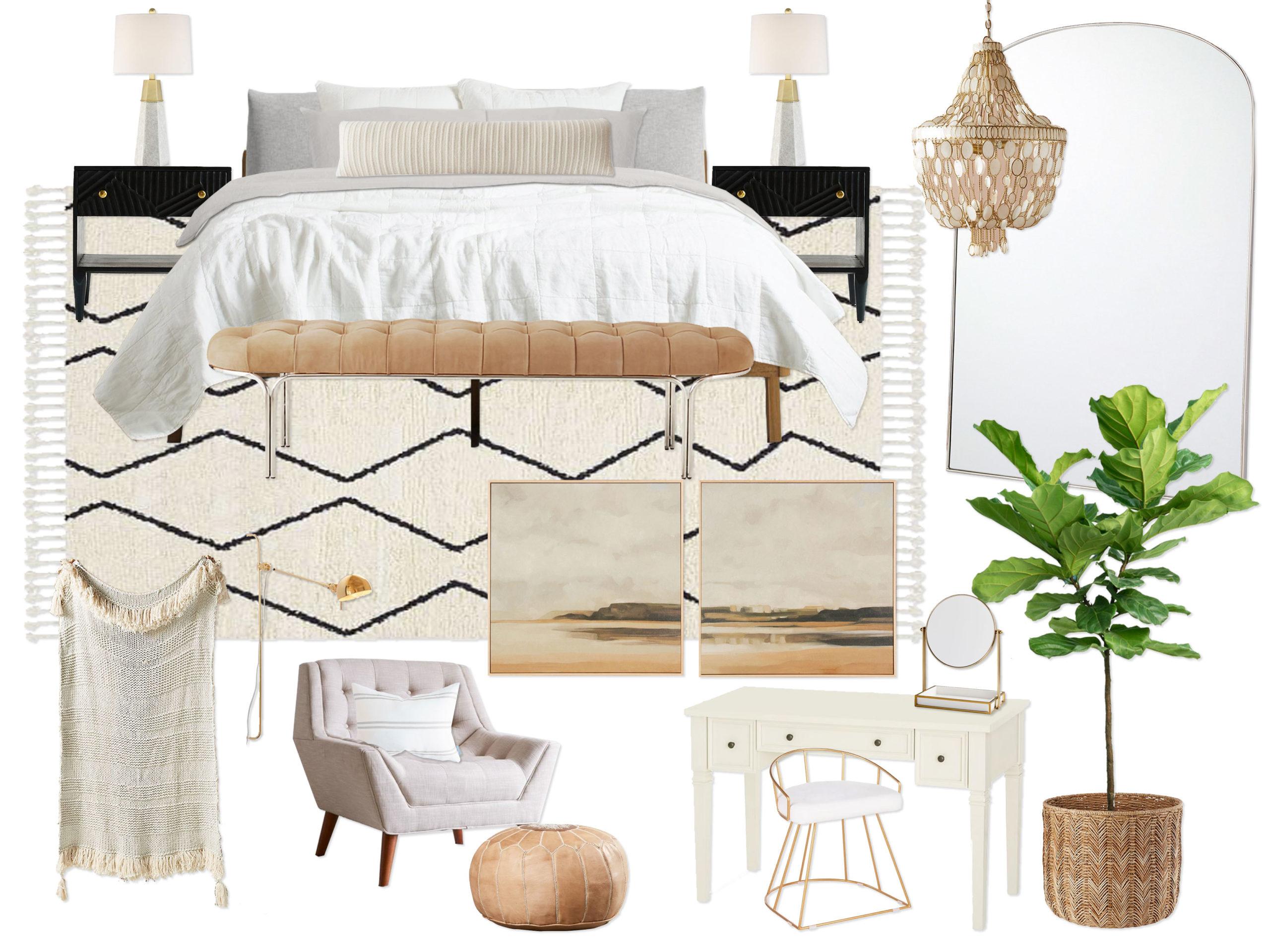 concept mood board interior design